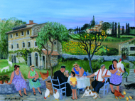 The Card Game, Tuscany