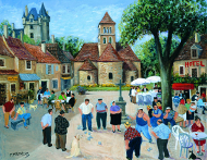 The Tournament, St. Leon Sur Vezere